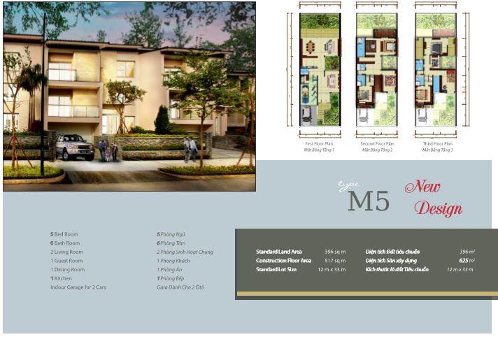 Biệt thự M5 khu Q Ciputra