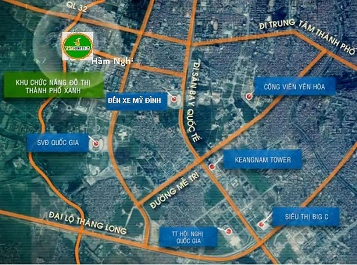 Vị trí khu đô thị
